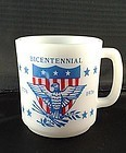 Glasbake Bicentennial Mug
