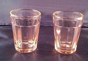 Pillar Optic Pink Whiskey Tumbler