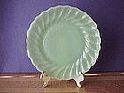 Fire King Shell Jadeite Salad Plate