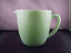Fire King Jade-ite 20 oz  Milk Pitcher