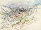 View of Jerusalem Hills, by Eve Menes