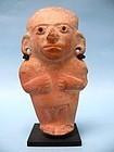 Guangala Pottery Standing Figure