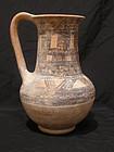 Rare Philistine Pottery Jug, Time of David & Goliath