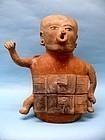Veracruz Pottery Shaman Vessel