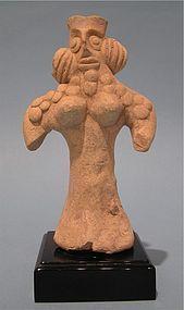 Syro-Hittite Bird Faced Fertility Goddess, Astarte