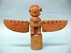 Jama Coaque Pottery Shaman, Bird Man