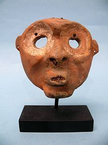 Jama Coaque Pottery Maskette