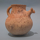 Iron Age Persian Jug with Zoomorphic Spout