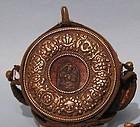 Tibetan Gao Prayer Box with Tsa Tsa
