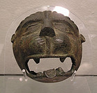 Islamic Medieval Bronze Lion Head Mask