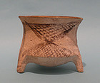 Iron Age II Pottery Tripod Bowl, Time of King David