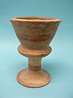 Iron Age II Pottery Goblet, Time of King Omri