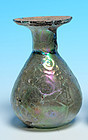 Roman Glass Sprinkler Flask