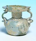 Roman Glass Sprinkler Jar
