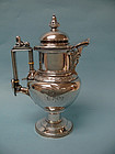 W. Gale & Son Sterling Silver Medallion Tea Pitcher