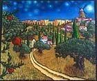 Neverending Magic of My City at Night, Jonathan Kis-Lev