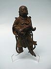 Chinese Bronze Bodhisattva Skanda / Wei Tuo, Guardian