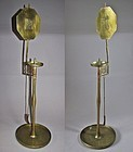 A Very Rare and Fine Yellow Brass Candle Stick