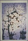 Very Fine Woodblock Print by Shiro Kasamatsu