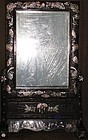 Rare/Fine Mother of Pearl Inlaid Up-Right Mirror Stand