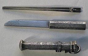A Fine and Rare Women's Ornamental  Knife