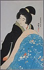 A Very Fine Woodblock Print by Ito Shinsui (1898-1972):