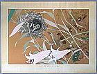 A Very Fine Woodblock Print by Tsuchiya Rakuzan