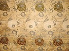 Japanese Antique Textile Silk Jacquard Sash Meiji