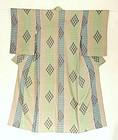 Japanese Vintage Textile Silk Shijira-ori Kimono