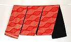 Japanese Antique Textile Silk Sash with Kanoko Shibori