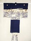Japanese Vintage Textile Boy's Festive Kimono