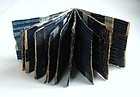 Japanese Antique Textile Shima-cho Sample Book