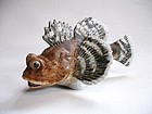 Japanese Contemporary Ceramic Fish Figure
