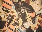 Japanese Antique Textile Nobori With Samurai
