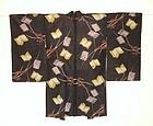 Japanese Vintage Textile Silk Meisen Haori Books