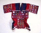 Indian Vintage Textile Mirror Work Wedding Blouse