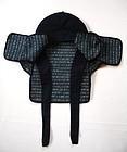 Japanese Antique Textile Sashiko Fireman's Hood