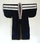 Japanese Vintage Textile Cotton Kimono Indigo