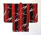 Japanese Vintage Textile Girl's Silk Kimono Mid 20th
