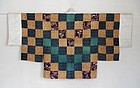 Japanese Antique Textile Patched Han-juban