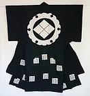 Japanese Antique Textile Yogi Tsutsugaki Futonji