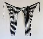 Japanese Vintage Textile Katazome Stripe Pants