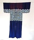 Japanese Antique Textile Silk Katsugi Head Veil