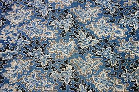Japanese Antique Textile Katazome Futonji