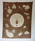 Japanese Antique Textile Tsutsugaki Futon Cover