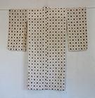 Japanese Vintage Textile Asa Kasuri Kimono