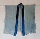 Japanese Vintage Textile Asa Asehajiki Short Under Kimono