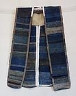 Japanese Vintage Textile Sakiori Sodenashi from Wakasa, Fukui