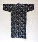 Japanese Vintage Textile Asa Omi-kasuri Woman's Kimono