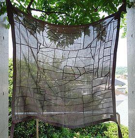 Korean Antique Textile Pojagi Made of Asa and Cotton Fragments
